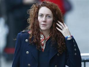 Former News International chief executive Rebekah Brooks arrives at the Old Bailey courthouse in central London