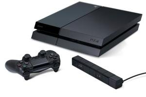 sony playstation 4 video game console