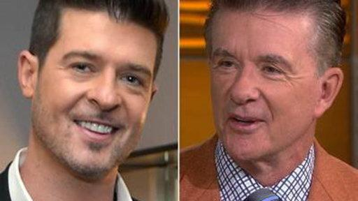 Alan Thicke: I'm 'crazy Proud' of Singer Son Robin