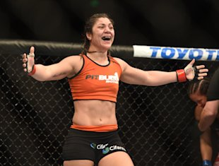 Bethe Correia suffered her first career defeat at the hands of Ronda Rousey at UFC 190. (USAT)
