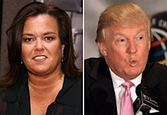Rosie O'Donnell, Donald J. Trump | Photo Credits: Neilson Barnard/Getty Images, David Cannon/Getty Images