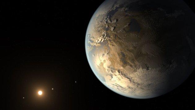 Reconstrucción del nuevo exoplaneta