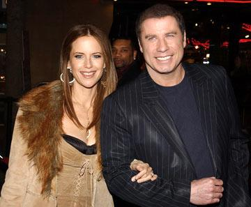 Kelly Preston and John Travolta at the Hollywood premiere of MGM's Be Cool
