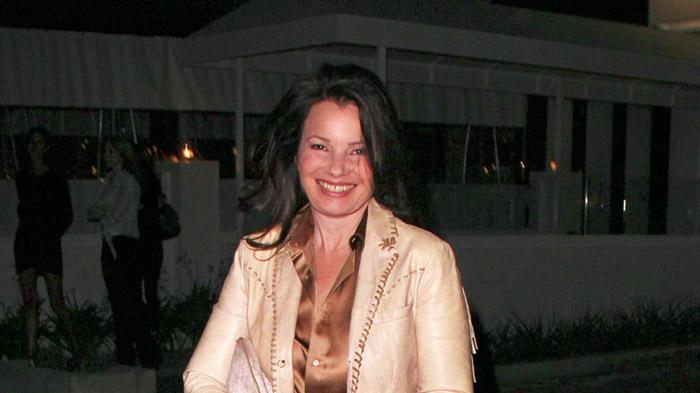 **EXCLUSIVE** Fran Drescher leaves Mr Chow in Malibu
