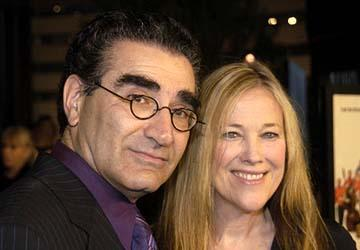 Premiere: Eugene Levy and Catherine O'Hara at the Hollywood premiere of Warner Bros. A Mighty Wind - 4/14/2003