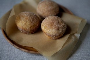 Make-Ahead Cinnamon Sugar Breakfast Puffs