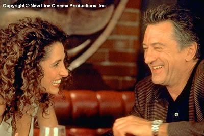 Melina Kanakaredes and Robert De Niro in New Line's 15 Minutes