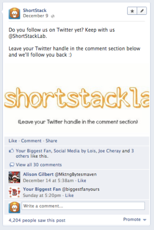 10 Quick Tips for Posting Better Facebook Status Updates image Screen Shot 2012 12 18 at 10.41.43 AM2