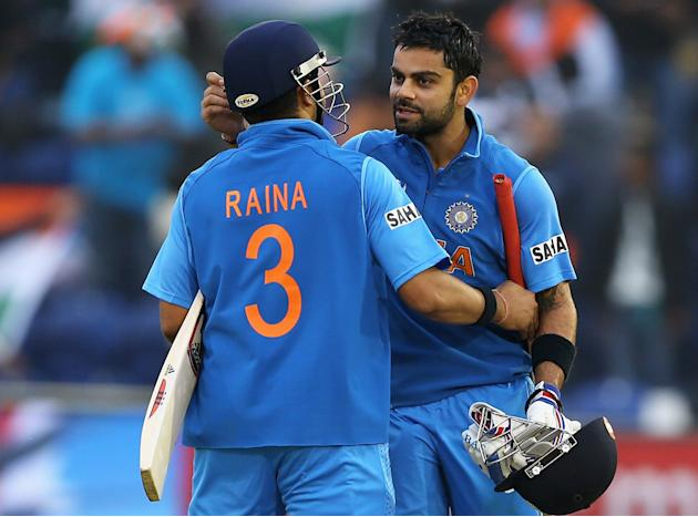 India v Sri Lanka: Semi Final - ICC Champions Trophy
