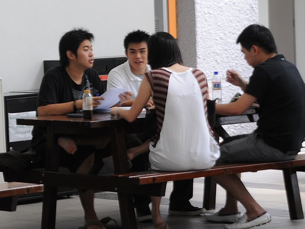 The 2011 GCE A-Level results were released on Friday. (Yahoo! file photo)