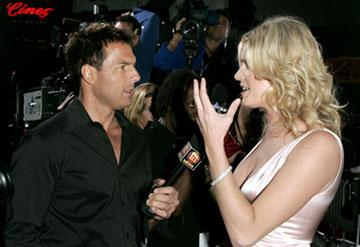 Premiere: Rebecca Romijn-Stamos and Mark Steines at the L.A. premiere of Lions Gate's Godsend - 4/22/2004 Mark Steines