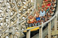 A record 5 million adults and children visited the German amusement park Europa Park in 2013