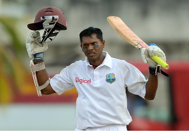 Shivnarine Chanderpaul: The veteran West Indies batsman had a dream series with the bat as not only was he among the runs, but he also became only the 10th batsman in Tests to cross the 10,000-run mar