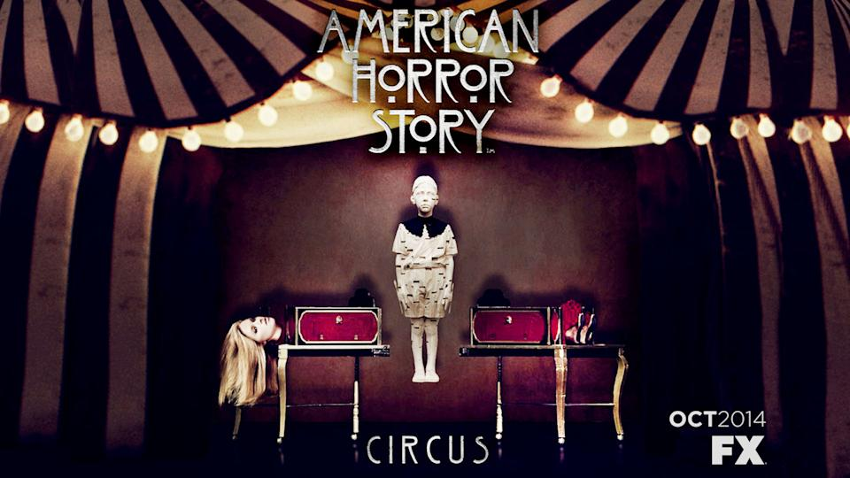 American Horror Story Season 4 Circus Themed