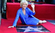 Helen Mirren Gets Hollywood Walk Of Fame Star