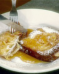 Pear Stuffed French Toast