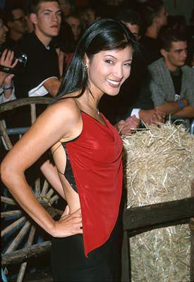 Premiere: Kelly Hu at the Hollywood premiere of Touchstone's Shanghai Noon - 5/23/2000
