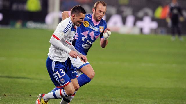 Ligue 1 - Clumsy Lyon held by Evian