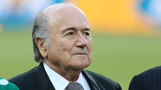 Football - Blatter hails electric Maracana, predicts great World Cup