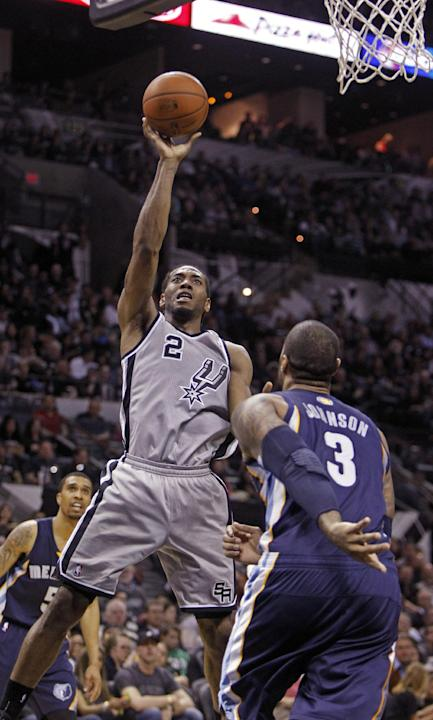 Kawhi Leonard waits for Spurs spotlight
