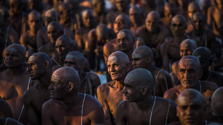 Hindu Devotees Gather For The Maha Kumbh
