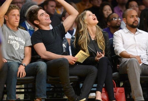 Zac efron dating neighbours co star