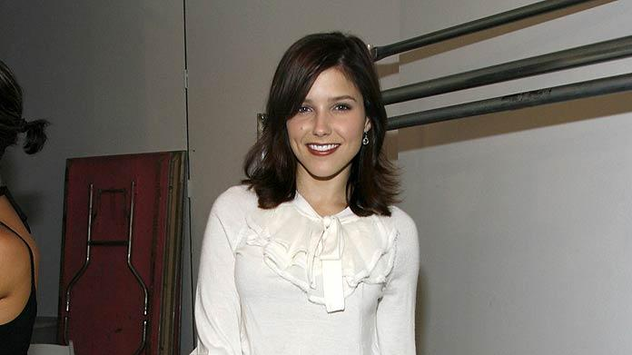 Sophia Bush at the Catherine Malandrino Show in The Chelsea Art Museum on September 8, 2007.