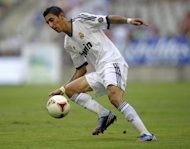 Real Madrid has extended the contract of its Argentine winger Angel di Maria, pictured in July 2012, until 2018, the club said Thursday, sealing his place as it seeks to retain the Spanish league title
