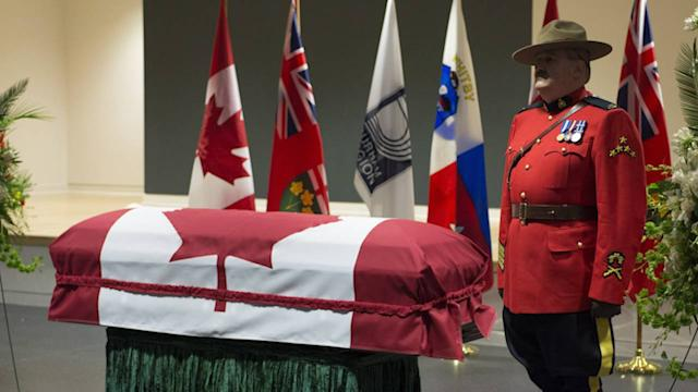 Jim Flaherty remembered at visitation as irreplaceable