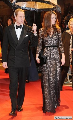 kate middleton prince william war horse premiere