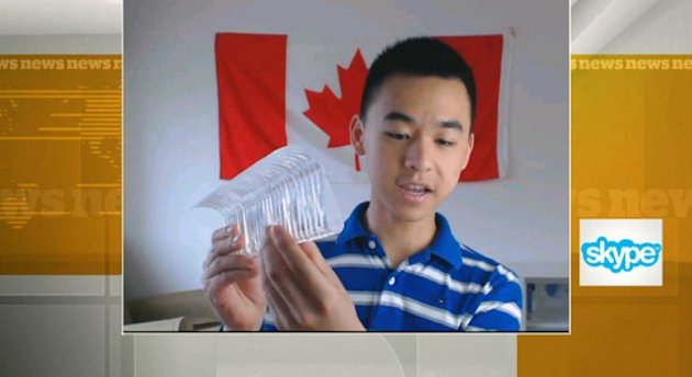17-year-old Raymond Wang won top prize at world's largest science fair in Pittsburgh