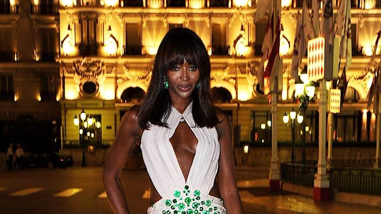 Naomi Campbell Monaco Royal Dinner