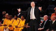 2012-13 NBA, Los Angeles Lakers bench, Mike D'Antoni (AFP)