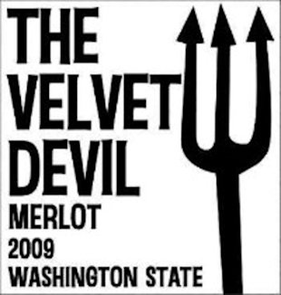 The image of The Velvet Devil Merlot is shown.