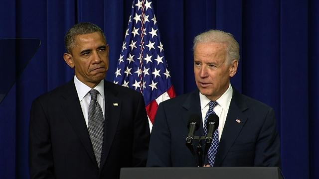 Biden introduces Obama's gun violence announcement