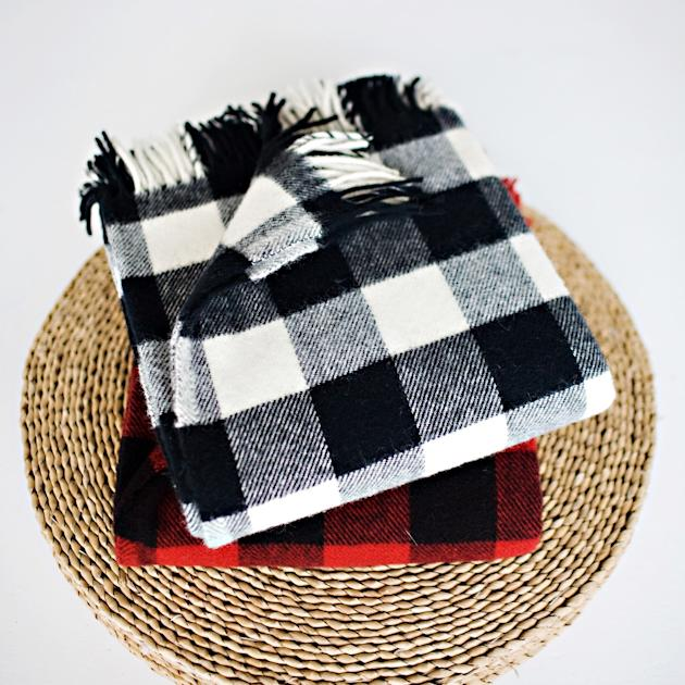 Plaid Throw