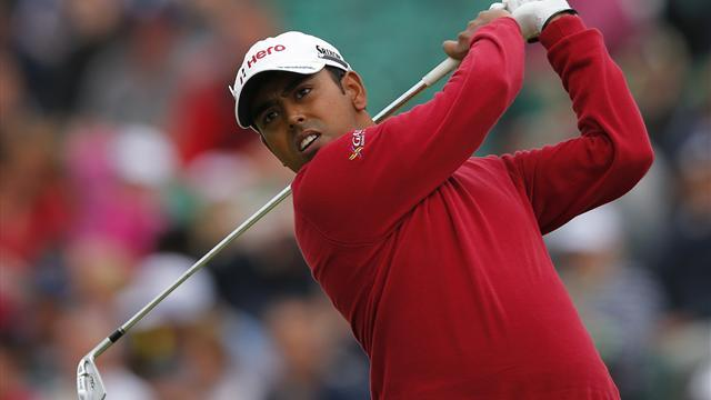 Golf - Lahiri leads after firing first day 63