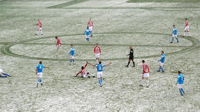 League One - Weather causes football postponements