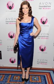 Ashley Greene strikes a pose at the AVON Awards.