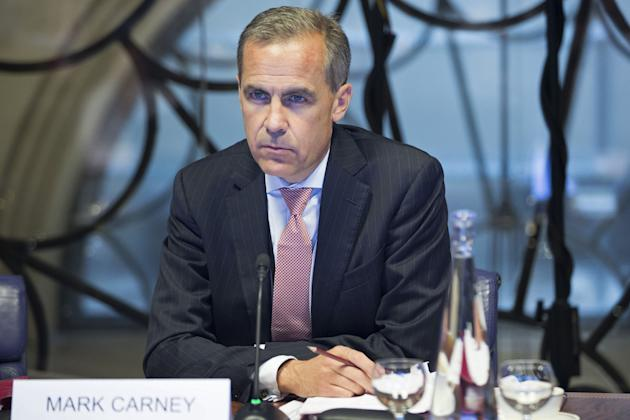 Mark Carney Begins Role As New Governor Of Bank Of England