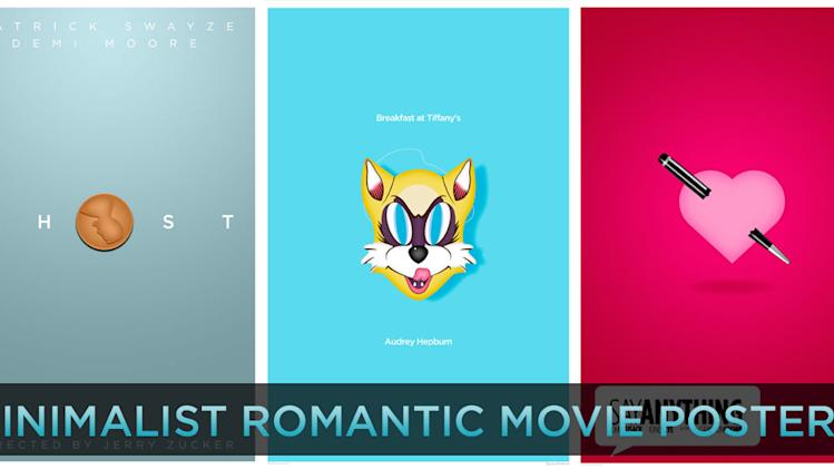 Minimalist Romantic Movie Posters title card