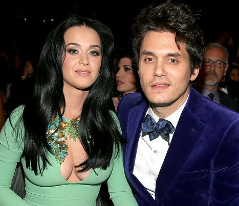 Katy Perry, John Mayer Reunite, Flirt at Her Memorial Day Party