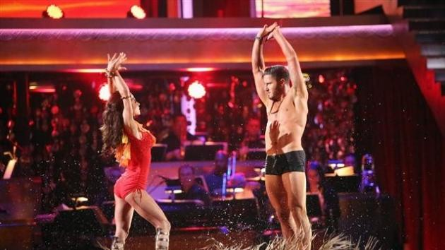 Kelly Monaco and Val Chmerkovskiy perform on 'Dancing with the Stars: All-Stars,' Nov. 19, 2012 -- ABC