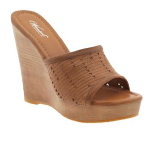 Wanted Carlo Platform Wedge Mule, $69.99