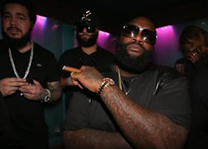 Rick Ross' Car Crashes Into Building After Drive-By Shooting
