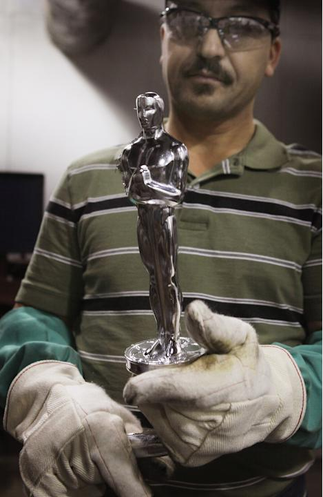 Oscar Statuettes Manufactured In Chicago Ahead Of Academy Awards