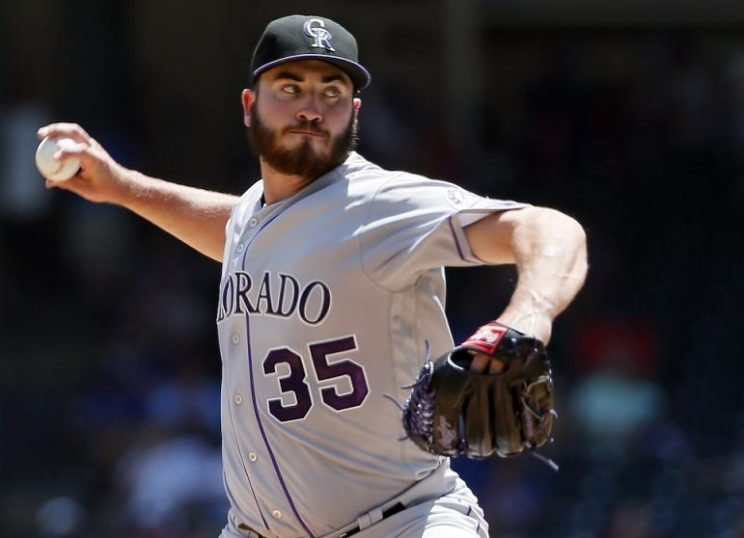 Rockies pitcher Chad Bettis was diagnosed with testicular cancer on Nov. 28, but plans to be ready for spring training. (AP)