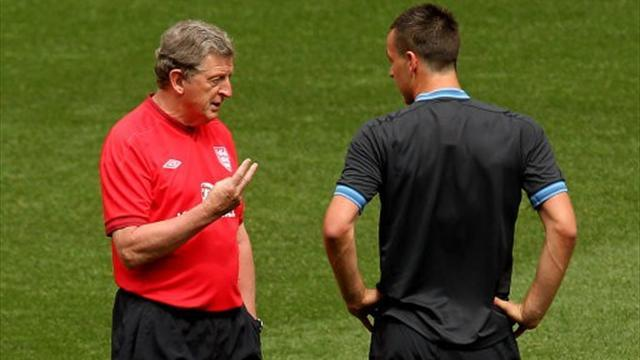 World Cup - Hodgson 'disappointed' after Terry quits