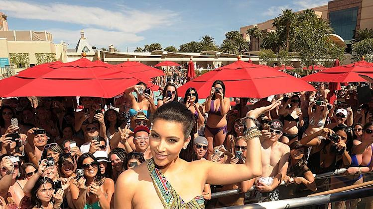Kim Kardashian Wet Republic