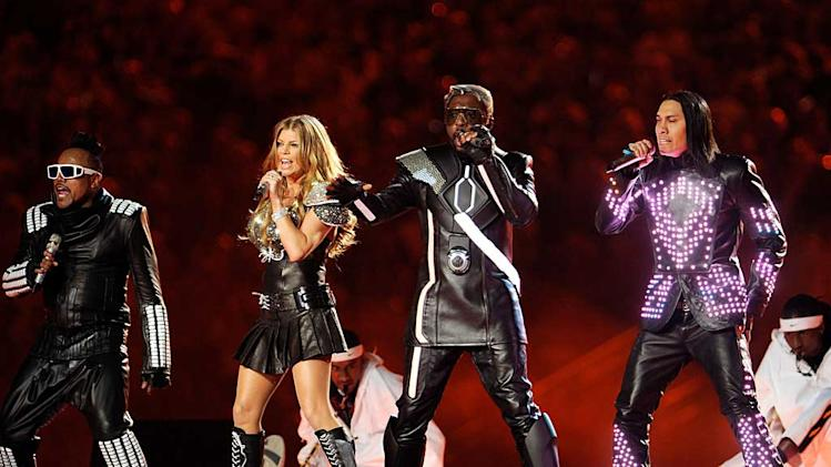 Black Eyed Peas Super Bowl Performance